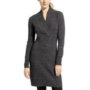 Athleta Marled Innsbrook Merino Wool Sweater Dress